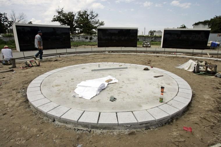 Image: Hurricane Katrina memorial in New Orleans