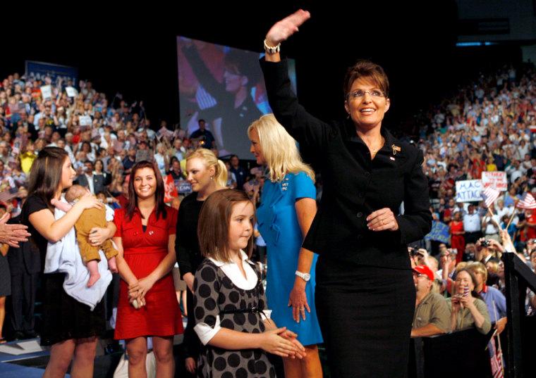 Image: Alaska Governor Sarah Palin