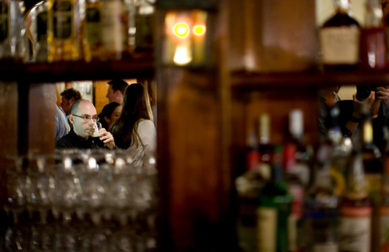 In the past few weeks, scattered reports have noted that alcohol sales are up in some places, despite — or maybe even because of — the downturn in the economy.