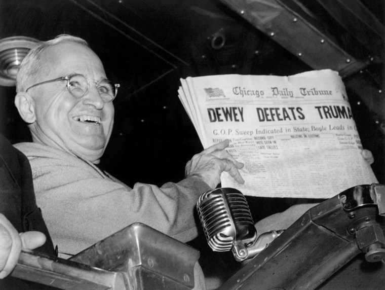 How Truman defied the odds in 1948