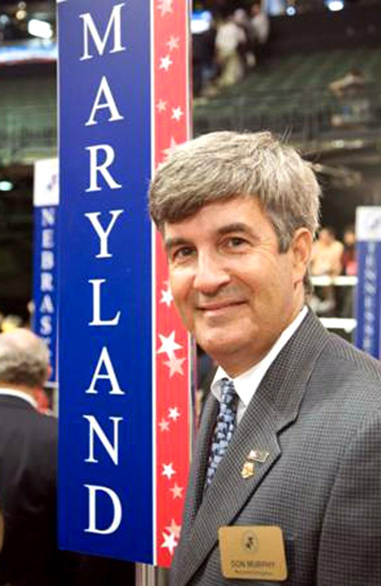 Image: Maryland delegate Don Murphy