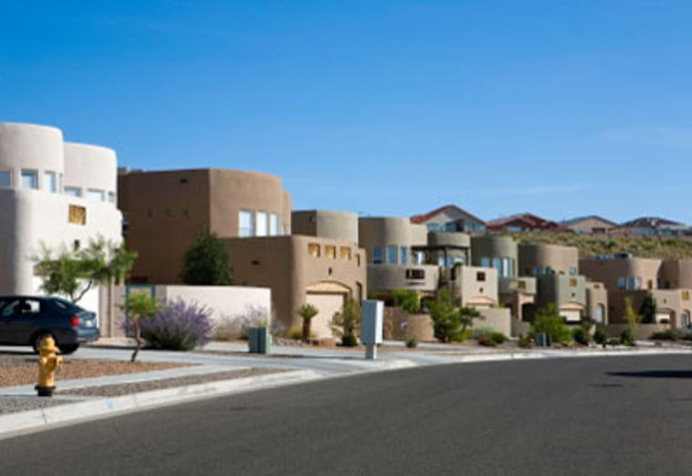Houses in New Mexico