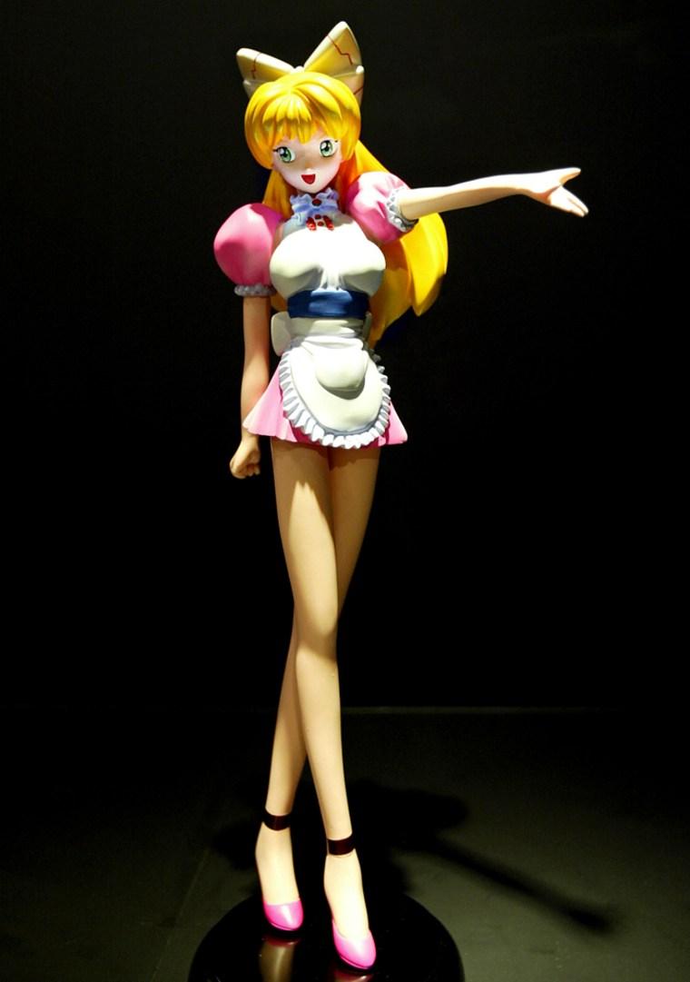 """Image: Takashi Murakami's figure """"Miss Ko2"""""""