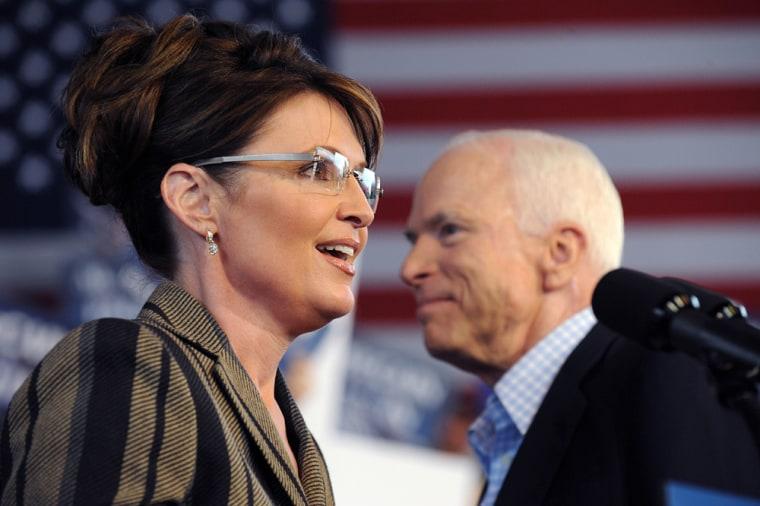 Image: Sarah Palin and John McCain