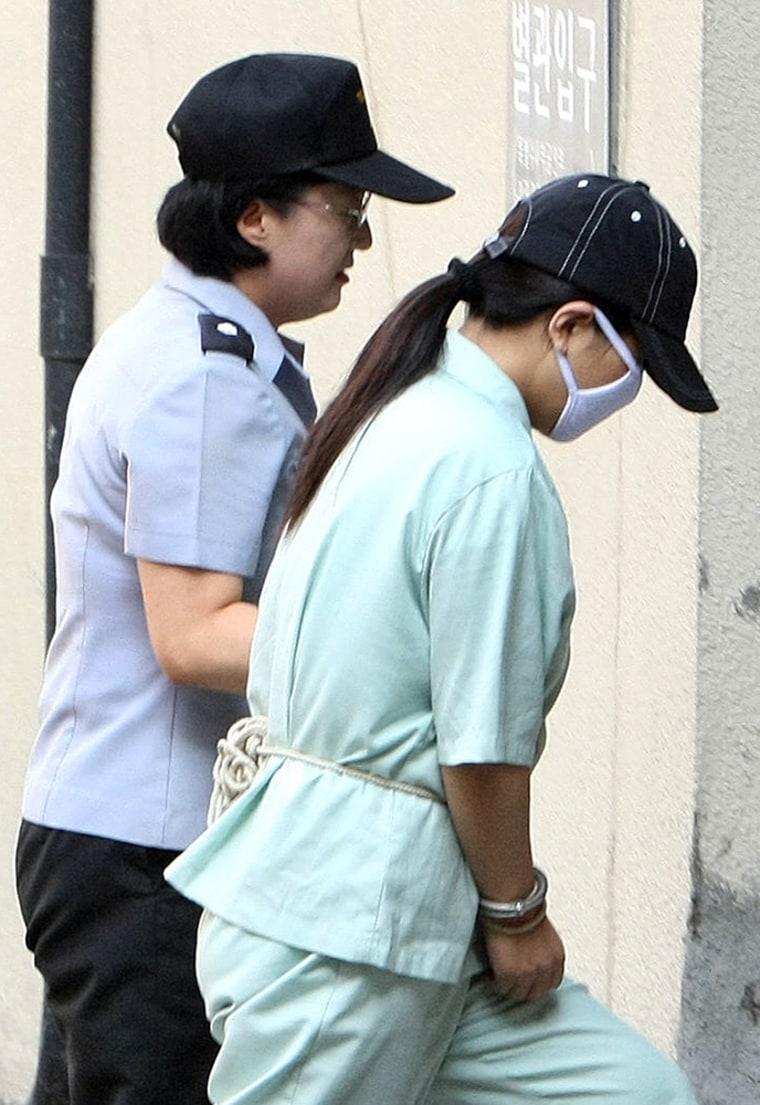 Image: Suspected North Korean spy Won Jeong-Hwa