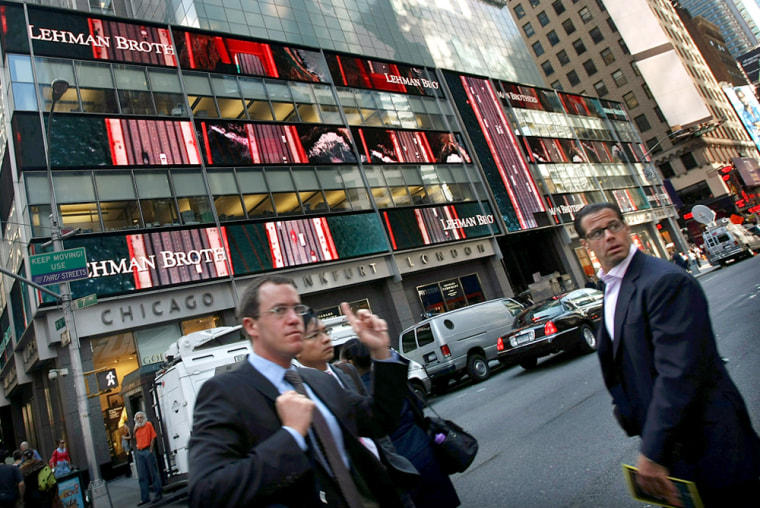 Image: Lehman Brothers headquarters