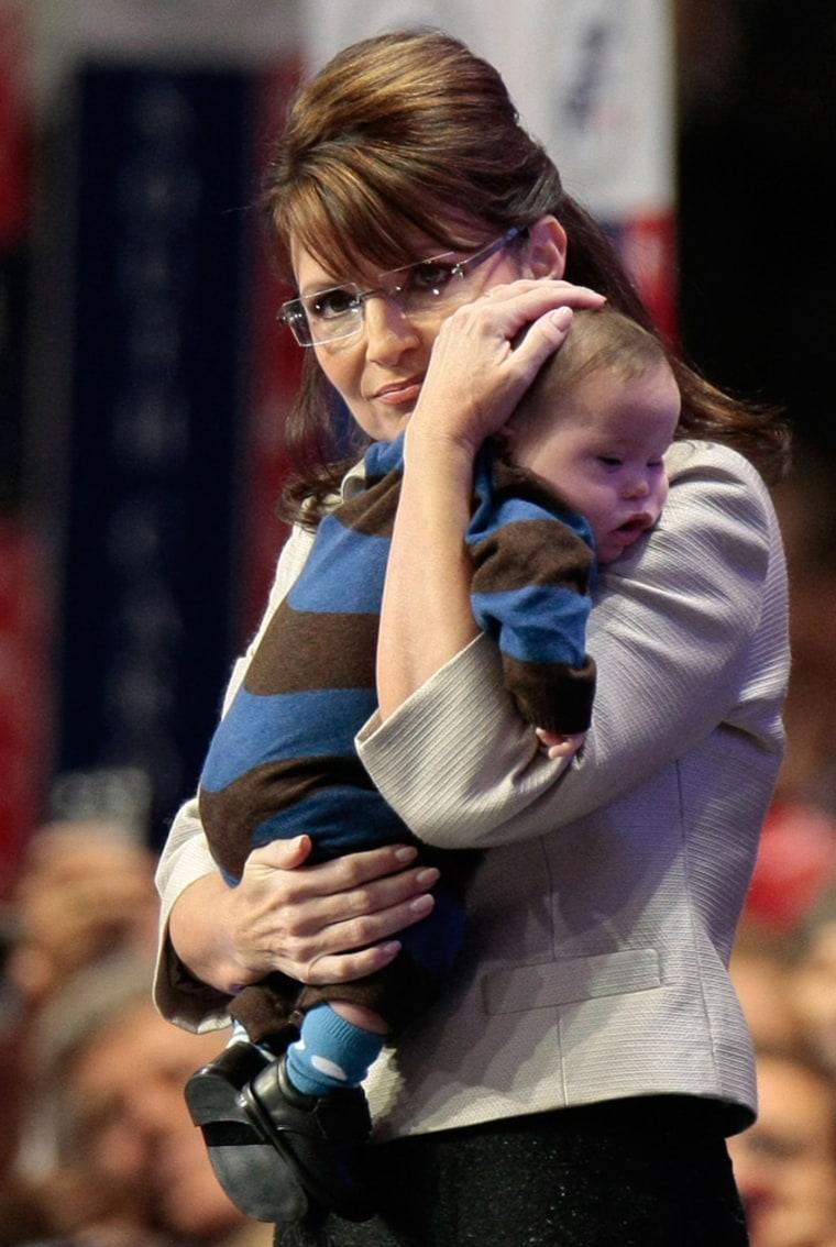 Image: Sarah and Trig Palin