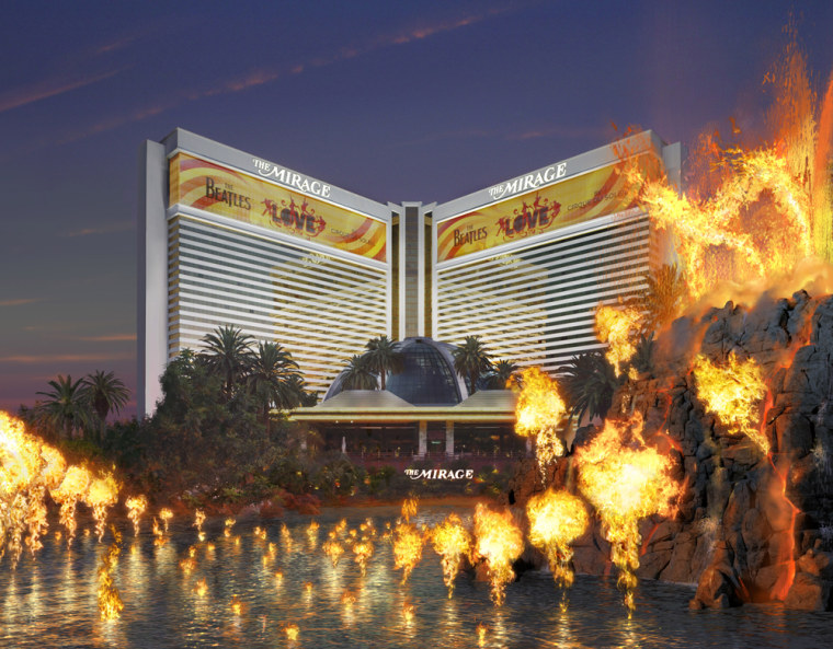 Image: Graphic rendition of the Mirage hotel
