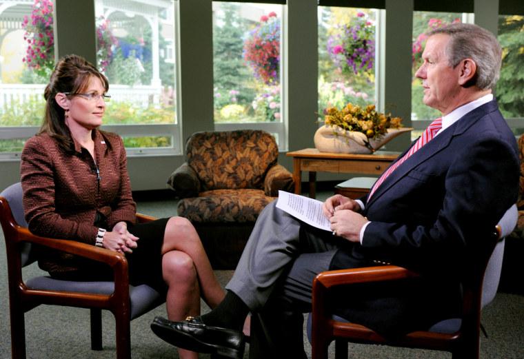 Image: Sarah Palin, Charles Gibson