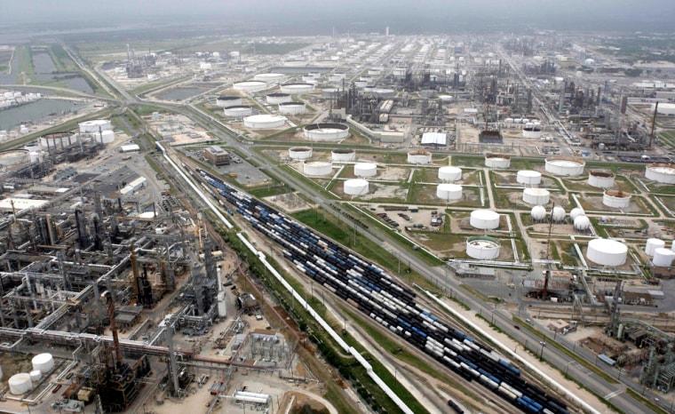Image: Houston petrochemical industry