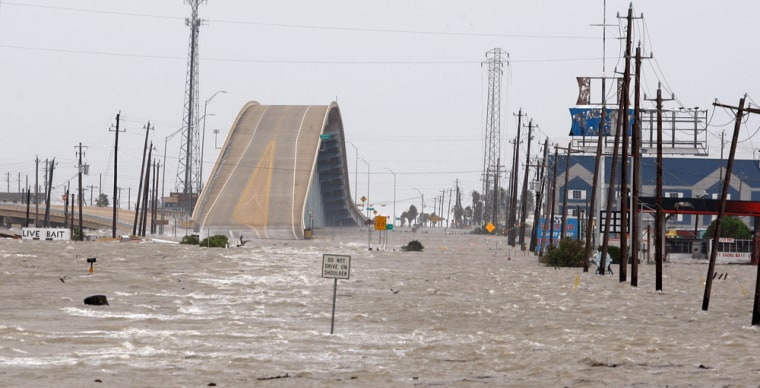 Image: Storm surge in Texas