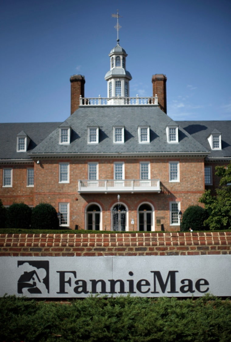 Image: The headquarters of mortgage lender Fannie Mae is pictured in Washington