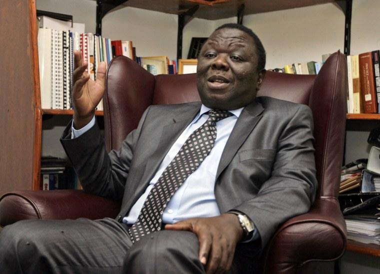 Image: Morgan Tsvangirai