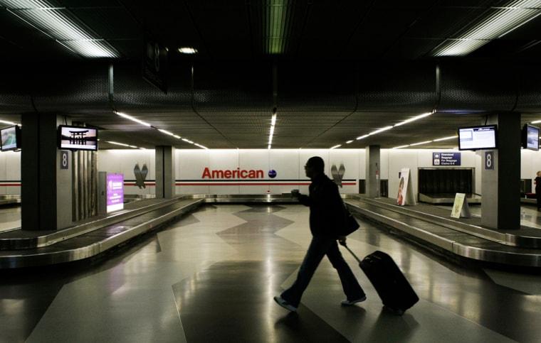 Image: A lone traveler walks
