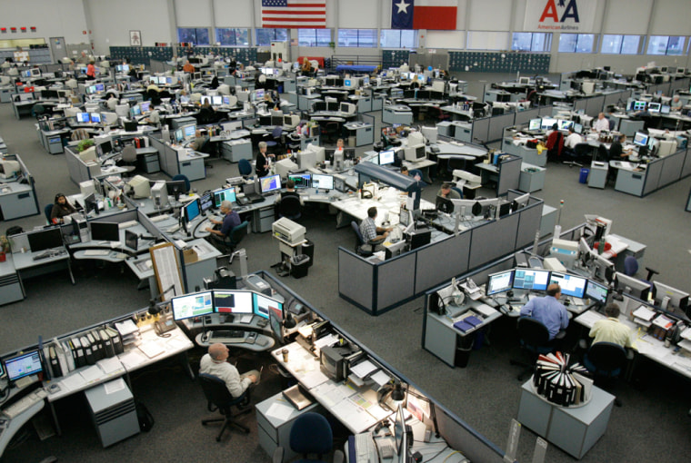 Image: The American Airlines Operations Center
