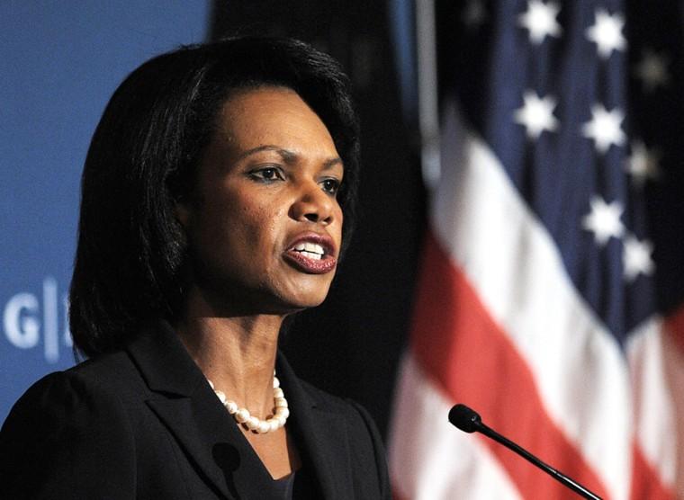 US Secretary of State Condoleezza Rice s
