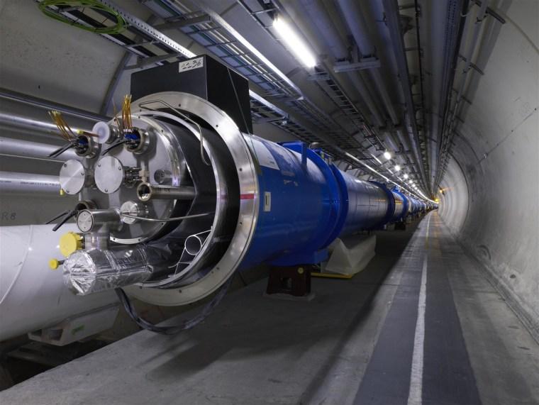 Image: LHC magnets