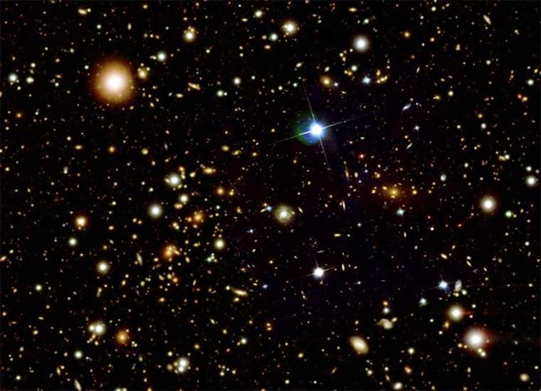 Image: Galaxy cluster 1E 0657-56