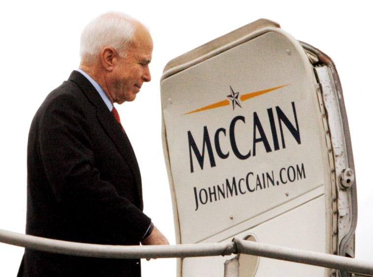 U.S. Republican Image: Presidential nominee John McCain