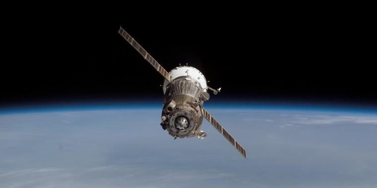 Image: Soyuz departure