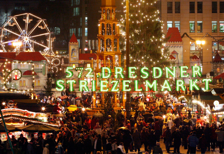 Image: General view to the 572nd Christmas market in Dresden, Germany