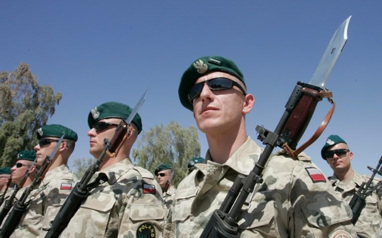 Image: Polish soldiers