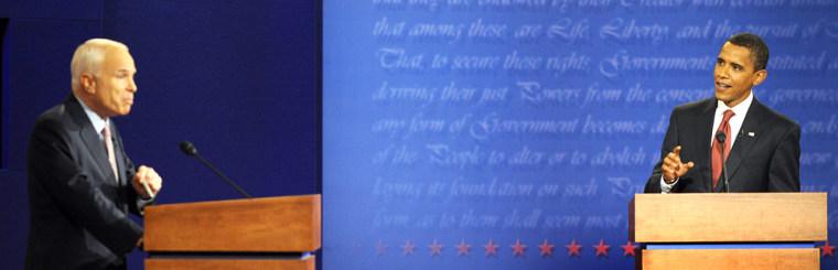 Image: McCain and Obama