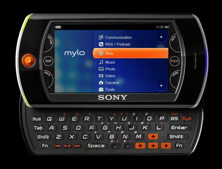 Image: Sony mylo personal communicator