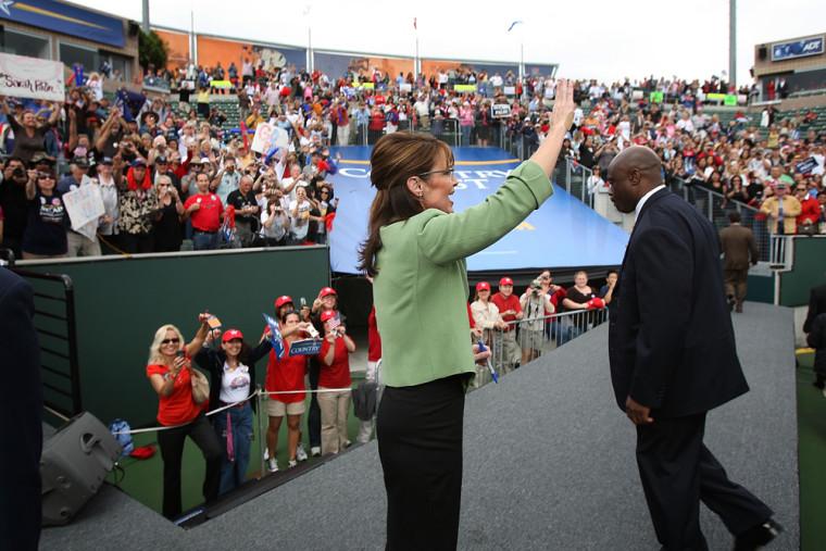 Image: Sarah Palin in Carson, California
