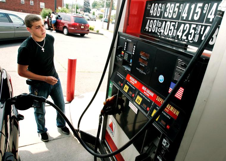 Image: Pumping gas