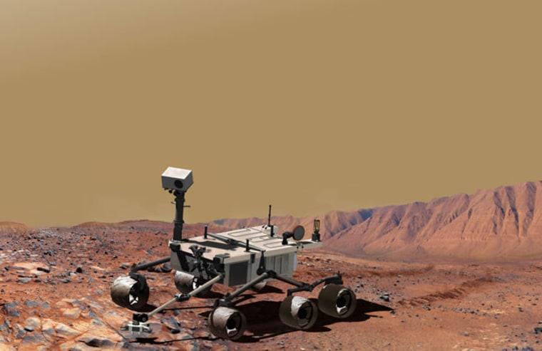 Image: Mars Science Laboratory