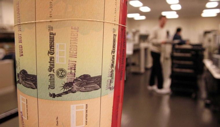 Image: Social Security checks