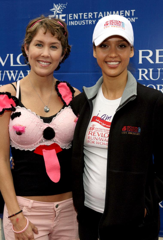 Image: Stefanie LaRue and Jessica Alba