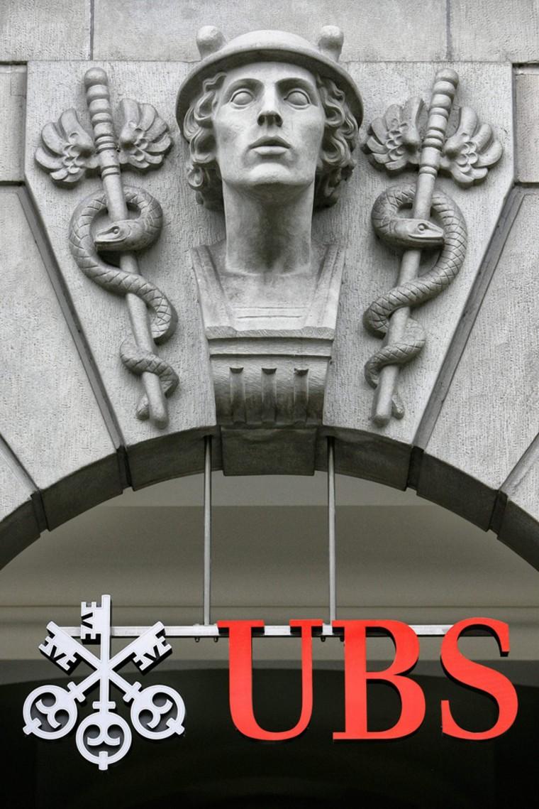 Image: Swiss Bank UBS is seen in Zurich