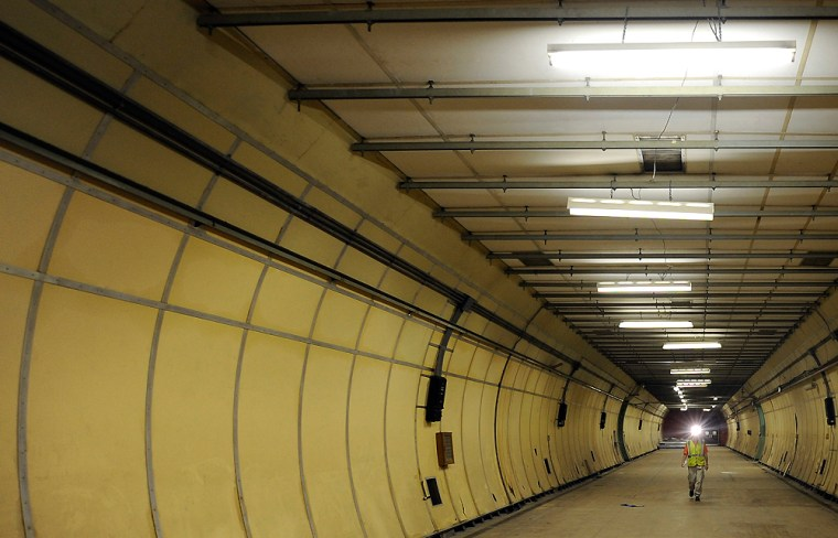 To match Reuters Life! BRITAIN-TUNNEL/