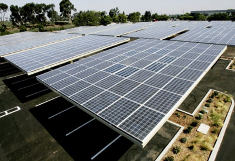 Image: Solar panels in San Diego