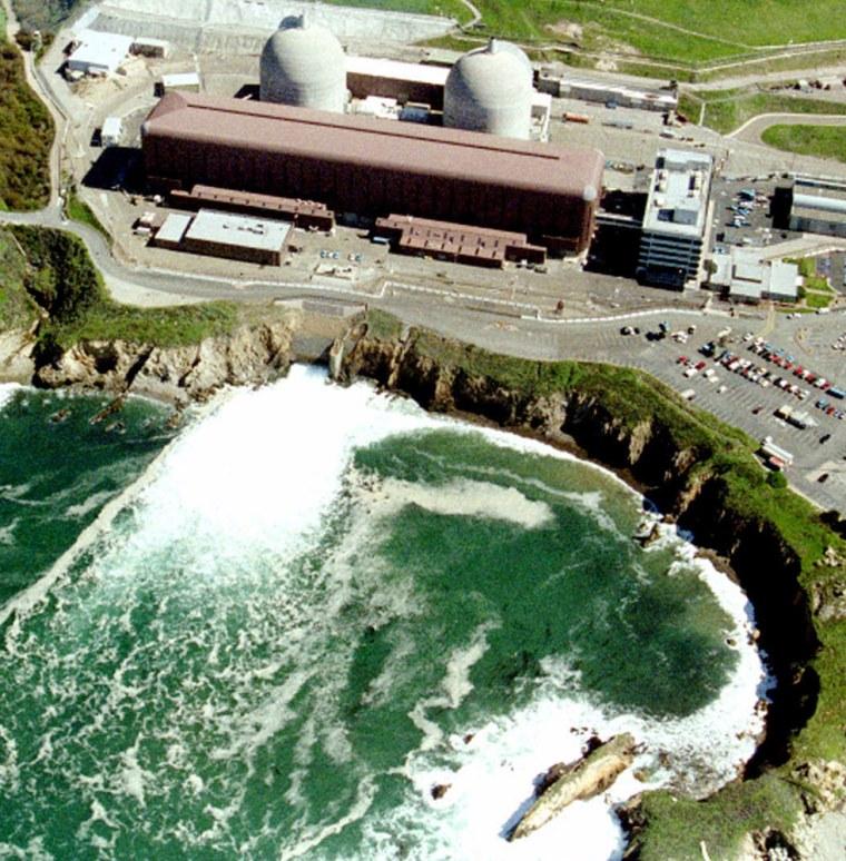 The Diablo Canyon nuclear power plantsits up against the Pacific Oceannear San Luis Obispo, Calif.