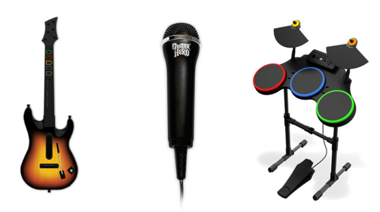 """Guitar Hero World Tour"" doesn't just have a guitar, it has a drum set and a microphone. If this sounds a lot like ""Rock Band"" to you, it is a lot like ""Rock Band."" But actually, it's better."