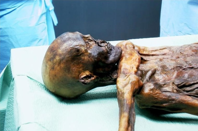 Genetic material from the Iceman mummy suggests this Neolithic man has no modern-day relatives on his mom's side of the family.