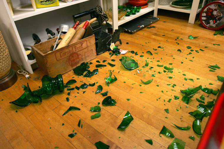 Image: Los Angeles earthquake aftermath