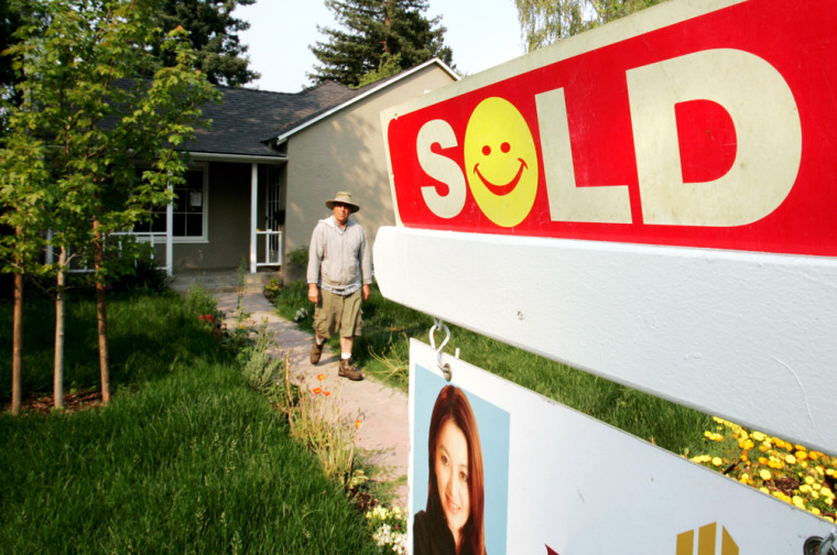Image: Home sold