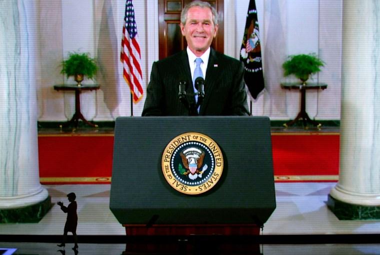 Image: George W. Bush, RNC day 2