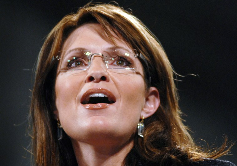McCain And Palin Hold Campaign Rally In Pennsylvania