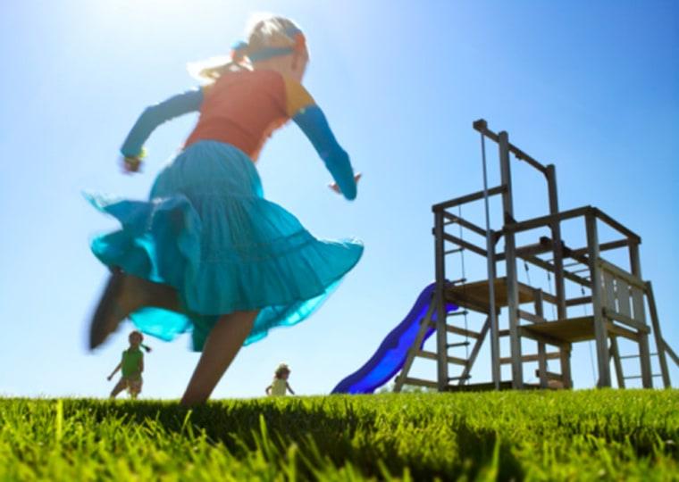 Image: Back to School, active children