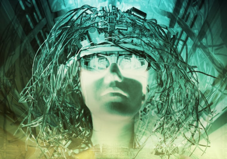 Read This Thought The U.S. Army is developing a technology known as synthetic telepathy that would allow someone to create email or voice mail and send it by thought alone. The concept is based on reading electrical activity in the brain using an electroencephalograph, or EEG.