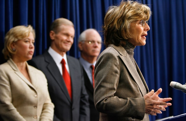 Democrats Attempt To Override Bush Veto Of Water Resources Act