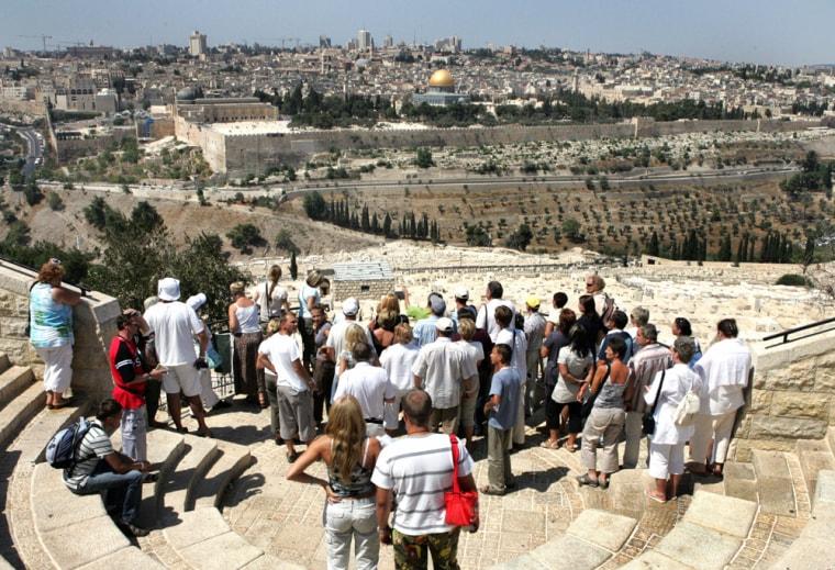 Image:  Mount of Olives