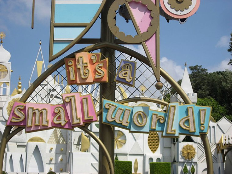 Image: Small World sign