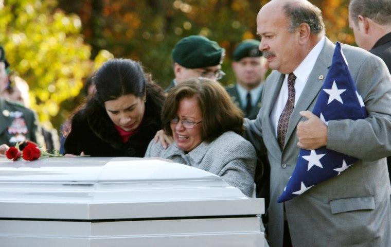 Image: Funeral for Major Jeffrey R. Calero