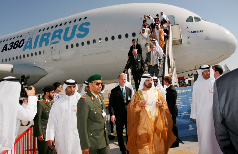 Dubai air show 2007